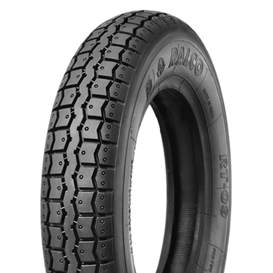 Ralco RT 09 3.50 - 8 Front/Rear Two-Wheeler Tyre