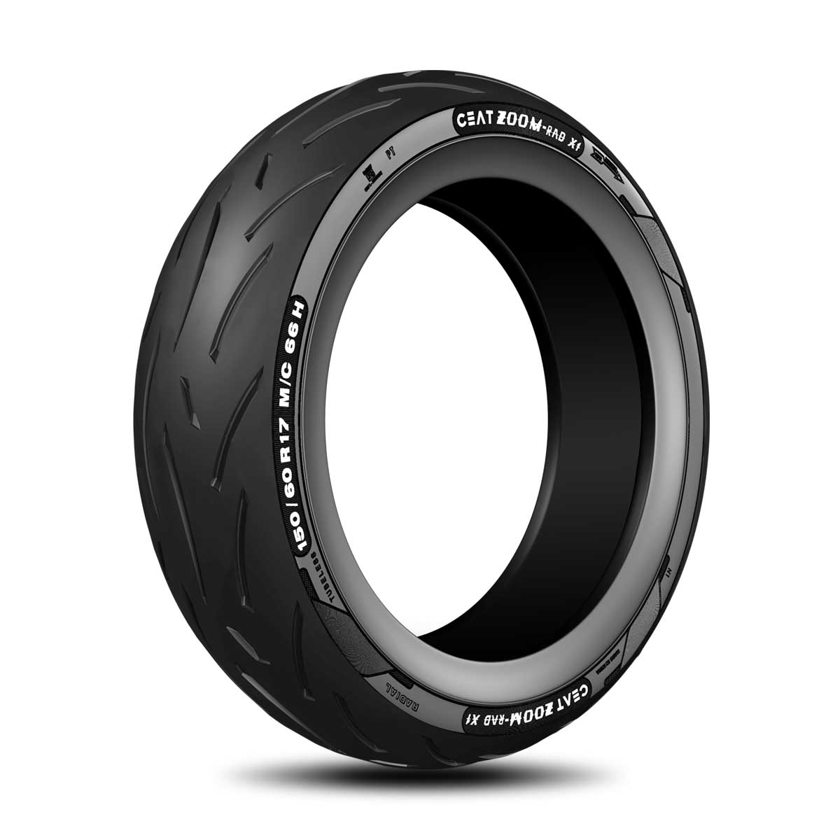 Ceat Rad X1 150/60 R 17 Tubeless 66 H Rear Two-Wheeler Tyre
