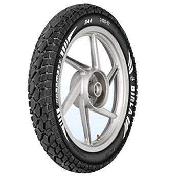 Birla ROADMAXX BT R44 3.50 19 Requires Tube Rear Two-Wheeler Tyre