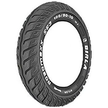 Birla ROADMAXX S63 100/90 10 Requires Tube Front/Rear Two-Wheeler Tyre