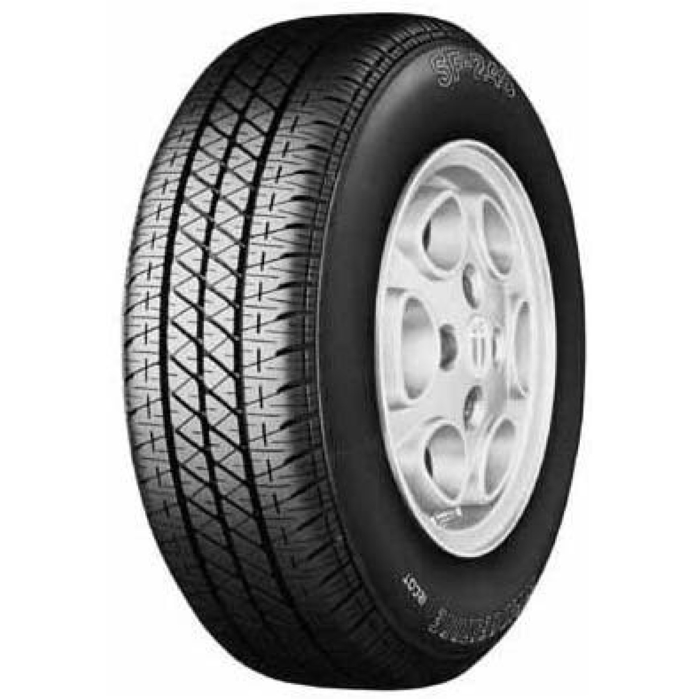 Bridgestone S248 145/80 R 12 Requires Tube 74 S Car Tyre