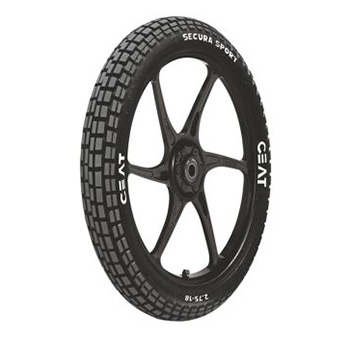 CEAT SECURA SPORTS 3.00 17 Requires Tube 50 P Rear Two-Wheeler Tyre