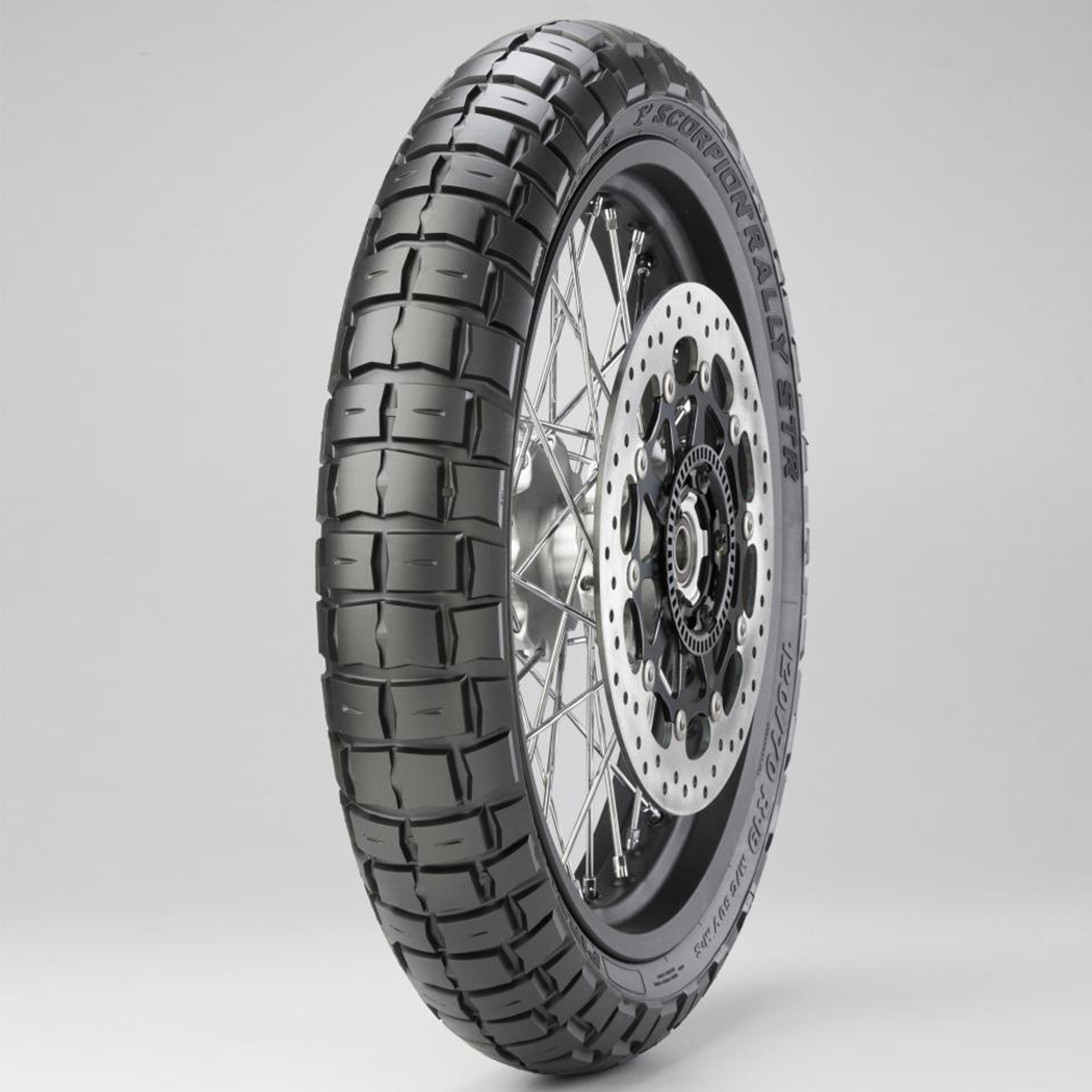 Pirelli Scorpion Rally STR 120/70 ZR 19 Tubeless 60 V Front Two-Wheeler Tyre