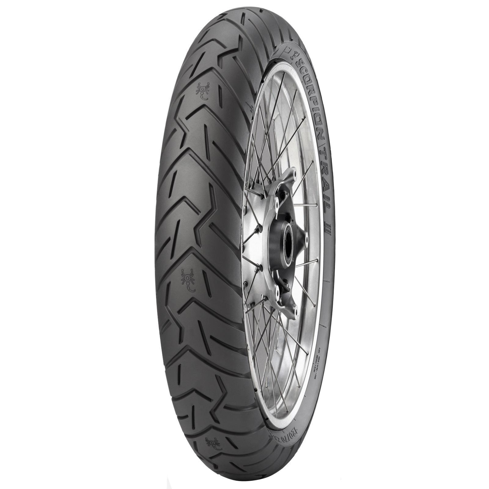 Pirelli Scorpion Trail II 120/70 ZR 19 Tubeless 60 V Front Two-Wheeler Tyre