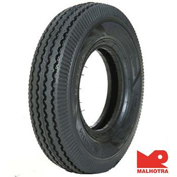 Malhotra Tuff Rib 450 10 Requires Tube   Front/Rear Two-Wheeler Tyre