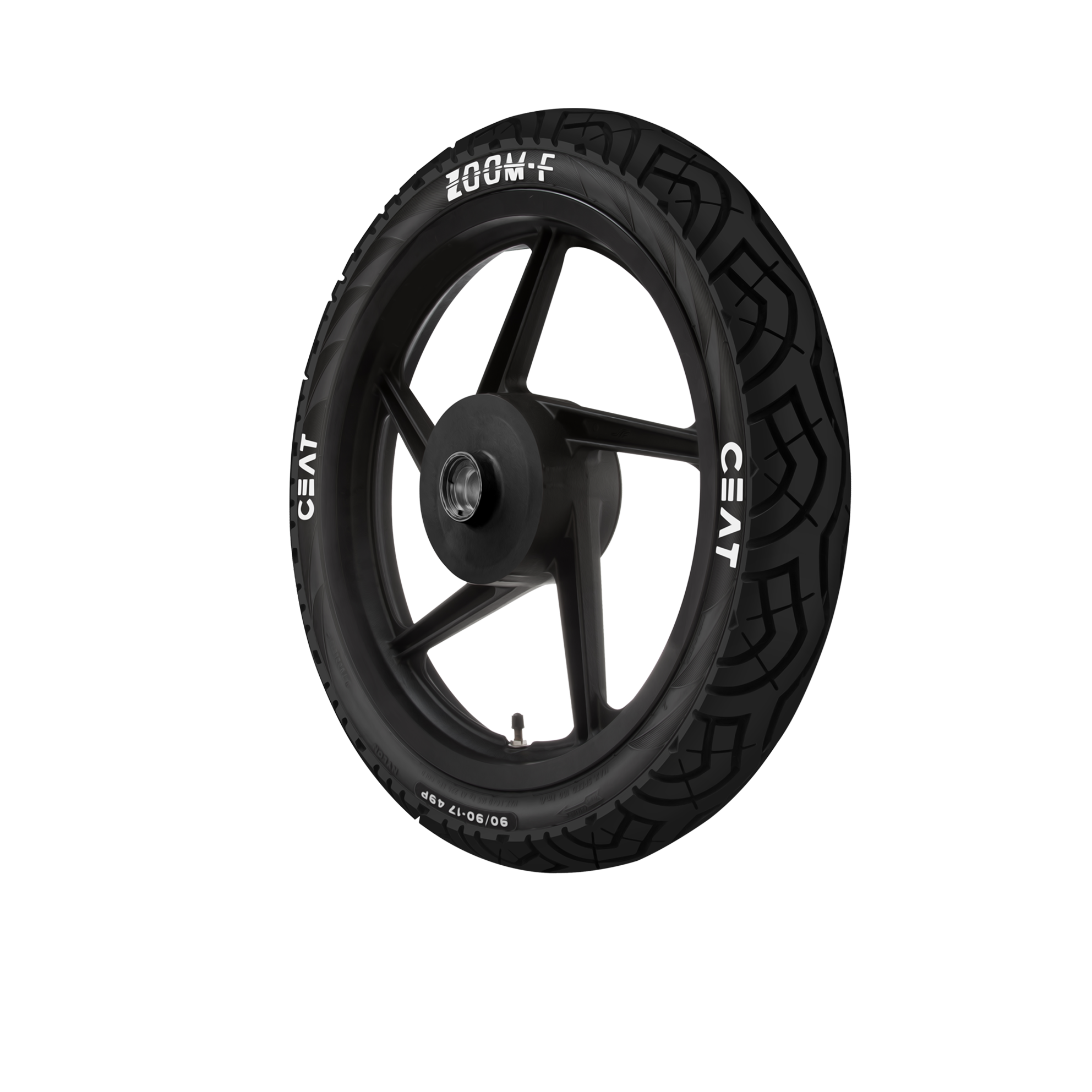 CEAT ZOOM 120/80 17 Tubeless 61 P Rear Two-Wheeler Tyre
