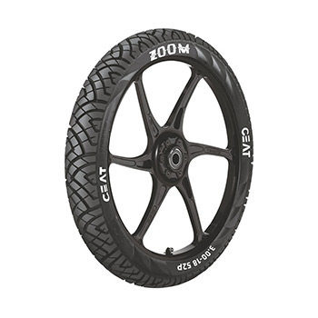 CEAT ZOOM XL 130/70 17 Tubeless 62 P Rear Two-Wheeler Tyre