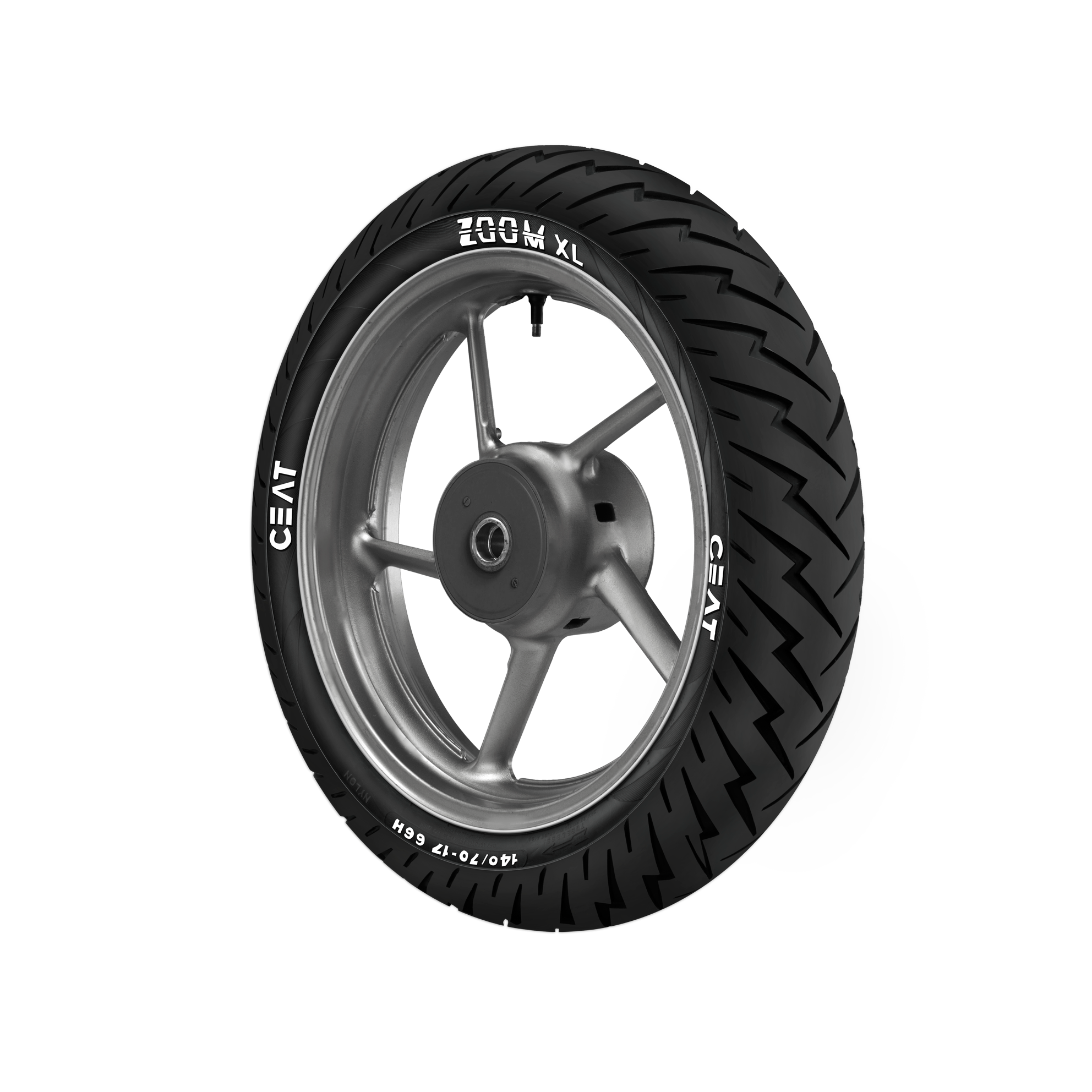 CEAT ZOOM XL 110/70 17 Tubeless 54 H Front Two-Wheeler Tyre