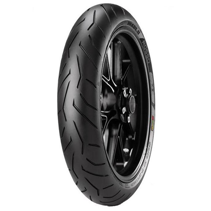 Pirelli DIABLO ROSSO II 120/70 ZR17 58 W Front Two-Wheeler Tyre