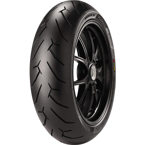 Pirelli DIABLO ROSSO II 140/70 R 17 Tubeless 66 H Rear Two-Wheeler Tyre