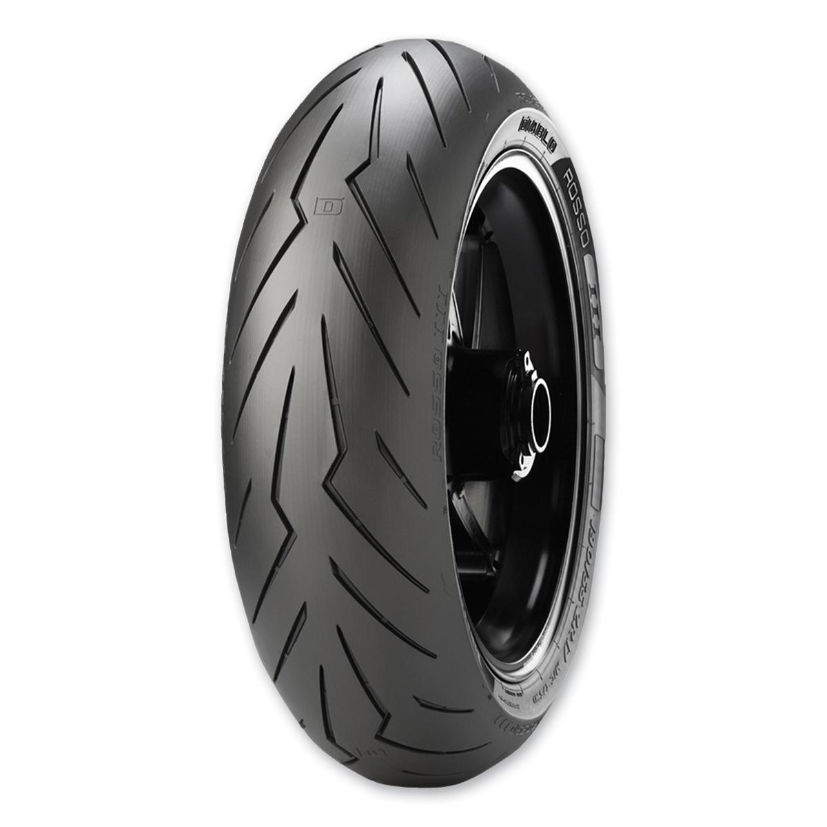 Pirelli DIABLO ROSSO 3 180/55 ZR17 Tubeless 73 W REAR Two-Wheeler Tyre