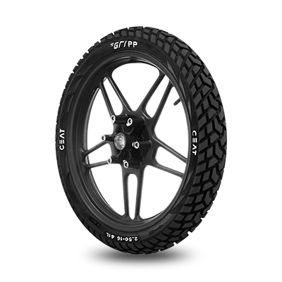 CEAT GRIPP 80/100 18 Requires Tube 54 P Rear Two-Wheeler Tyre