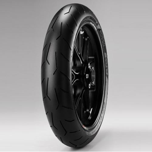 Pirelli Diablo Rosso Corsa 120/70 ZR17 Tubeless 58 W Front Two-Wheeler Tyre