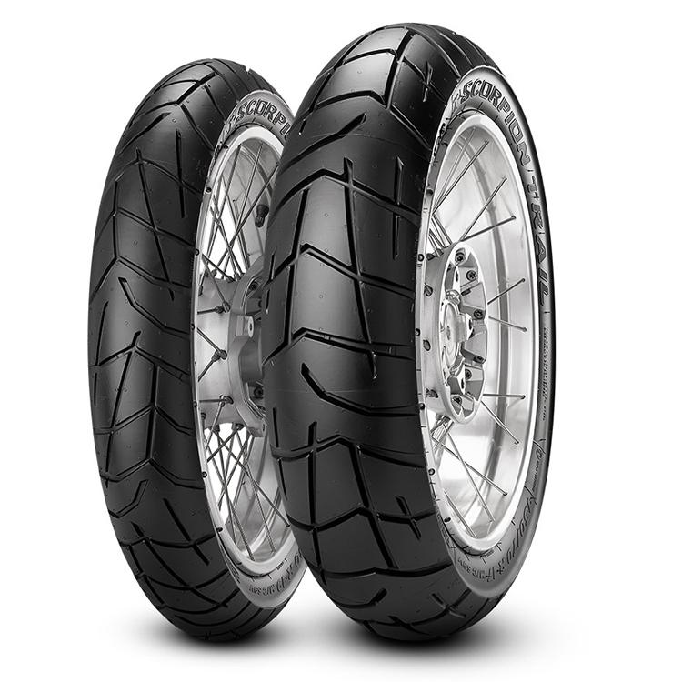 Pirelli SCORPIAN TRAIL 100/90 19 Tubeless 57 V Front Two-Wheeler Tyre