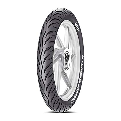 MRF NYLOGRIP ZAPPER FX 1 100/80 17 Tubeless 52 P Front Two-Wheeler Tyre