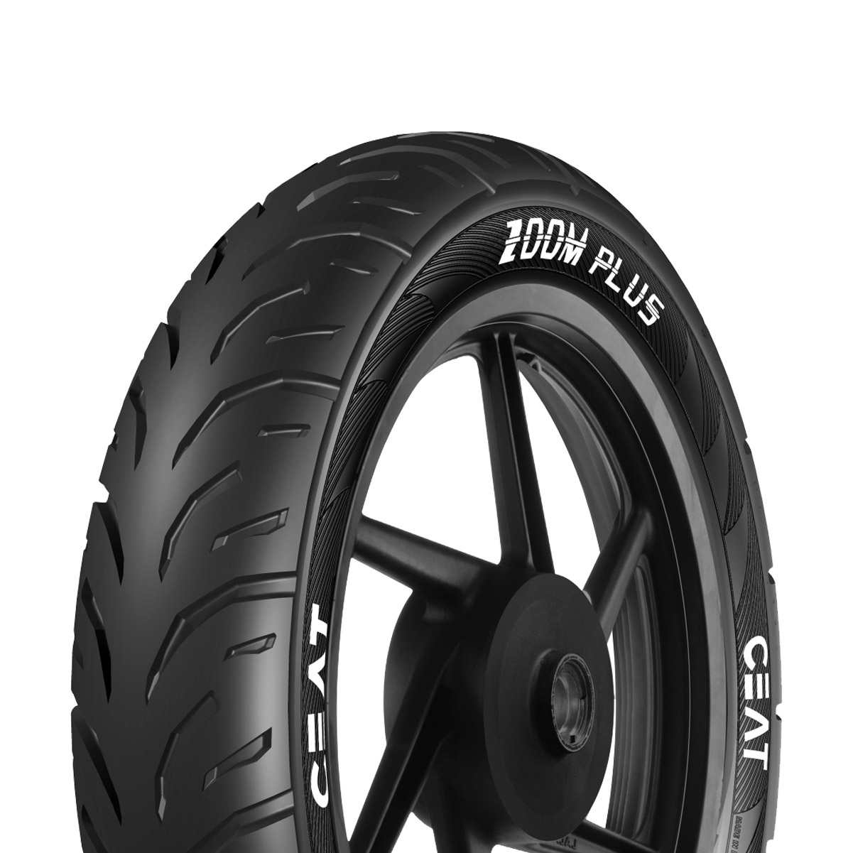 CEAT ZOOM PLUS 80/100 18 Tubeless 54 P Rear Two-Wheeler Tyre