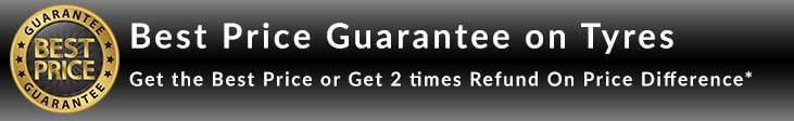 Best Price Guarantee on Tyre