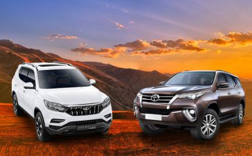 Mahindra Alturas G4 Vs Toyota Fortuner The Real Off-Roaders Compared