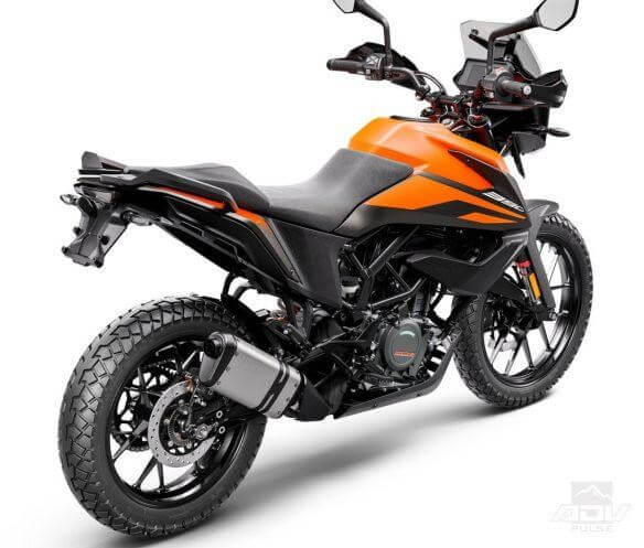 Adventure series two wheeler from KTM