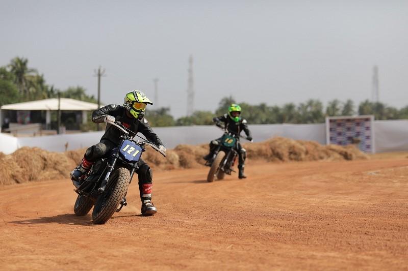 flat track racing from Abhishek Vasudev