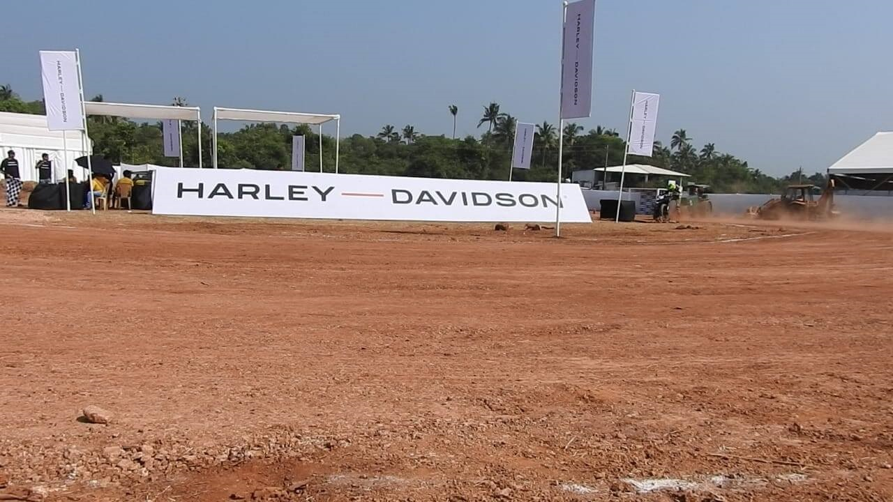 Harley Davidson Flat Track Race