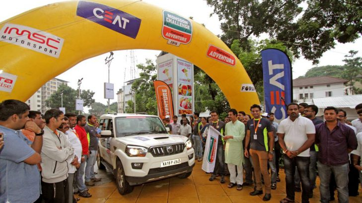 CEAT Join Hands With Mahindra For An Adventurous Drive