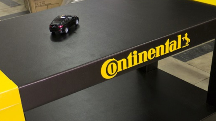 Continental Introduces Driverless Tyre Test Vehicle