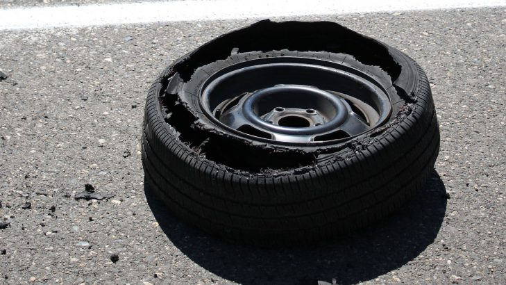 Tyre Burst: A Driver's Nightmare