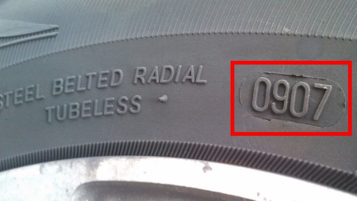 date of manufacturing tyre