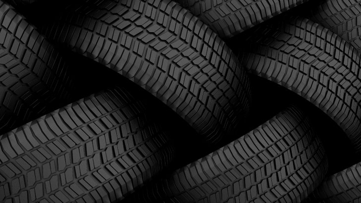 Why tyres are black