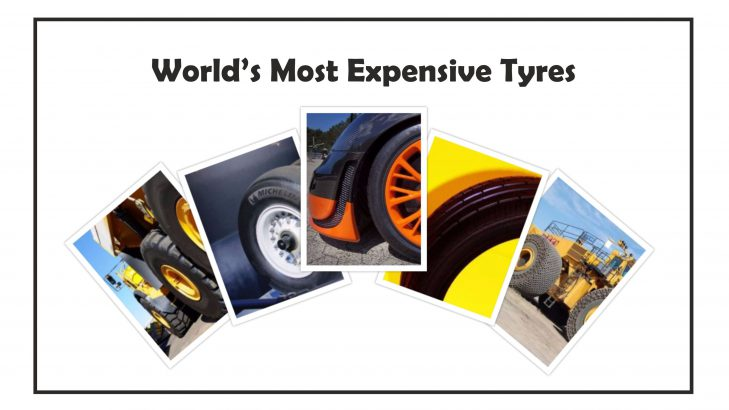 World's Top 6 Most Expensive Tyres
