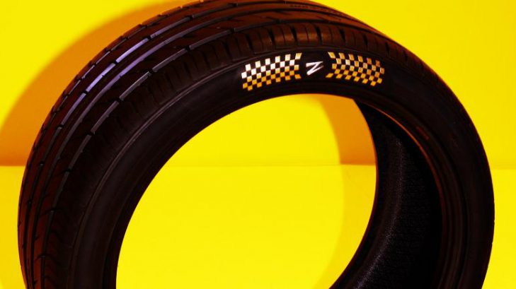 World's Most Expensive Car Tyre Sold in Dubai for Rs. 4 Cr.