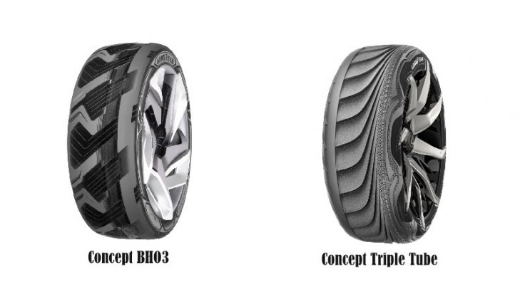 News: Goodyear Unveils Two Futuristic Concept Tyres, BHO3 And Triple Tube