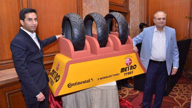 Metro Tyres Unveils Radial Motorcycle Tyres In India