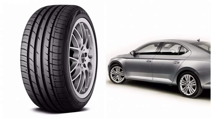 Falken Tyres To Feature In The New Skoda Superb Sedan