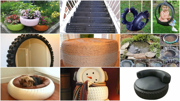 Best Out Of Waste Ideas Best Things Made From Car Tyres