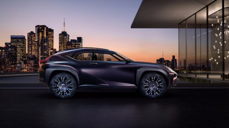New Lexus UX Concept Car Comes Fitted With Goodyear's Customized Concept Tyres
