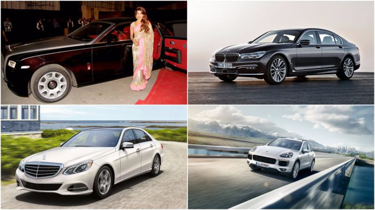 indian celebrities  tycoons and cars