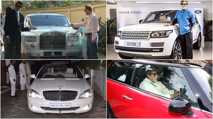 Amitabh Bachchan Car collection