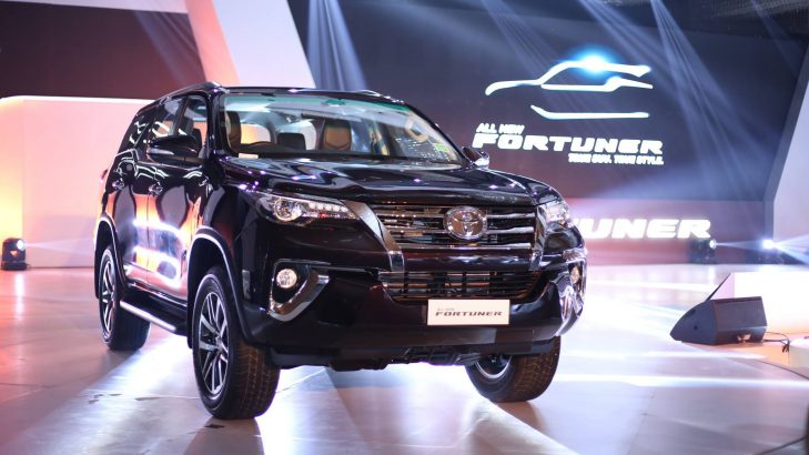 Toyota Fortuner 2017 Launched, Comes Fitted With Bridgestone