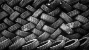 uncontrolled use of old tyres for pyrolysis