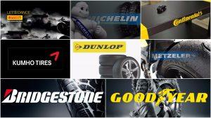 World's Most Popular Tyre Brands