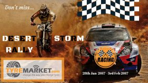 Desert Storm Rally 2017 Tyremarket.com Rallying