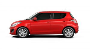 Maruti Swift Recommended Tyre Upsize