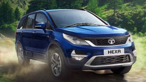 top 10 suv in india - Tata Hexa