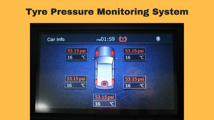 Tyre Pressure Monitoring System – All You Need To Know