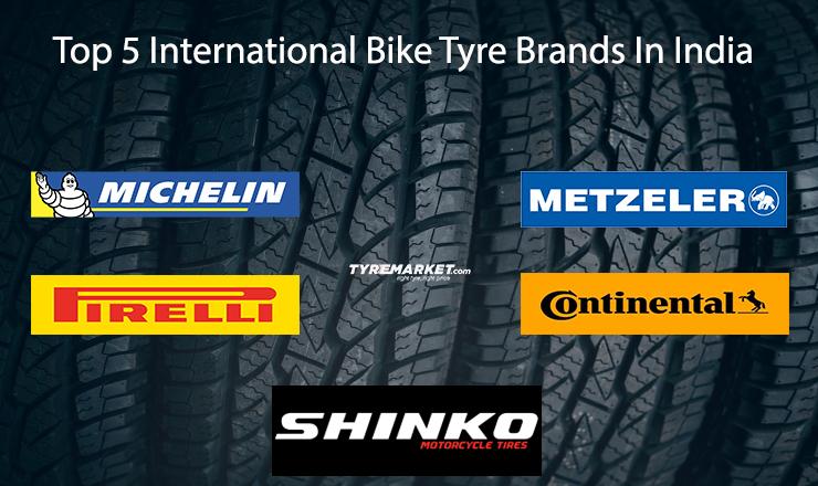 Top 5 International Bike Tyre Brands In India