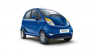 Tata Nano Ground Clearance