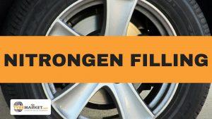 Nitrogen filling in tyres