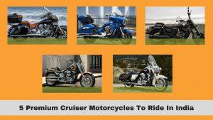 best cruiser bikes in India